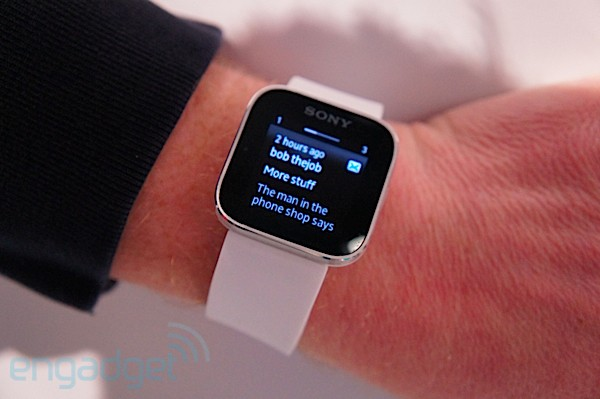 Sony Smartwatch hands-on