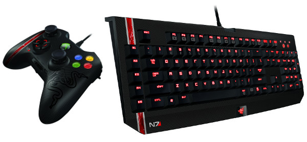 Razer Mass Effect 3 peripherals