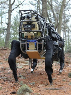 Boston Dynamics LS3 AlphaDog
