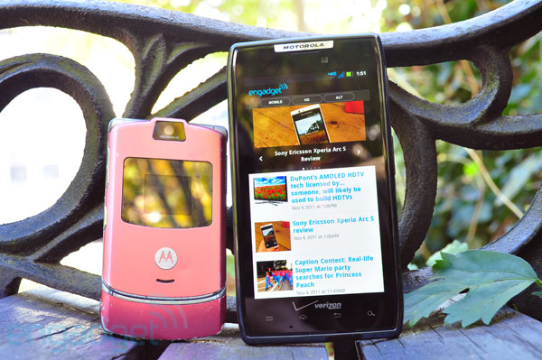 How would you change the Motorola Droid RAZR?