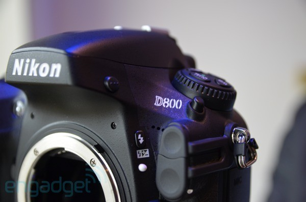 Nikon confirms 36.3 megapixel D800, we go hands-on