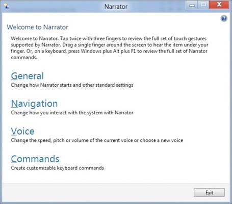 Microsoft outlines accessibility features for Windows 8
