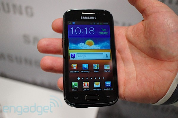 Samsung Galaxy Ace 2 hands-on