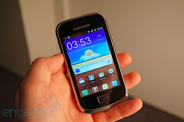 Samsung Galaxy Mini 2 hands-on
