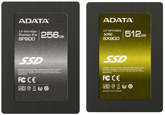 ADATA reveals three new SandForce SSDs for the high, mid and low end