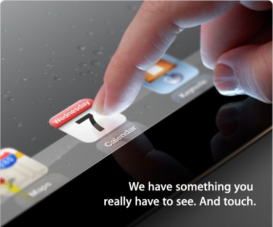 Apple iPad event confirmed for March 7th in San Francisco