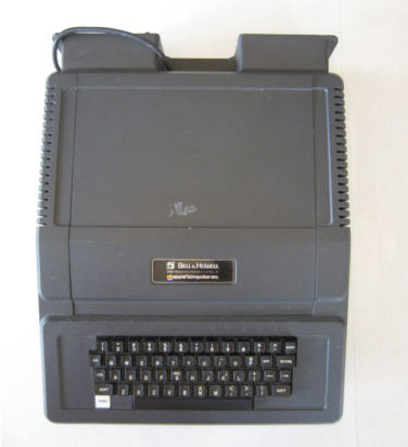 Bell & Howell Apple II Plus appears on eBay, like a foundling carved out of onyx