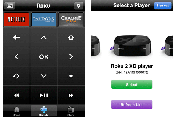 Roku remote for iOS updated, easier navigating features in tow
