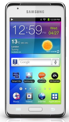galaxy s wifi 4.2 product image 2 Samsung annuncia Galaxy S Player WiFi 4.2 [MWC 2012]