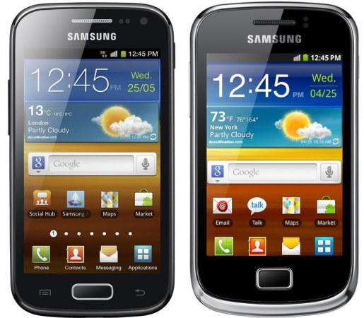Samsung Galaxy Ace 2, Galaxy mini 2