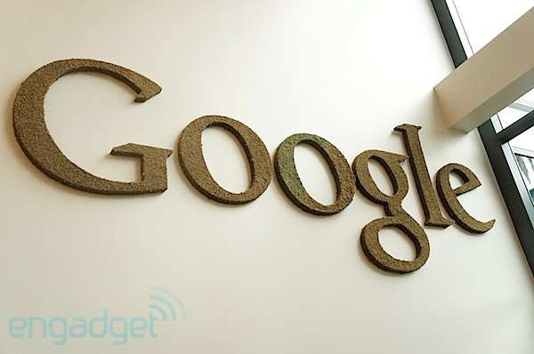 Google bronze sign