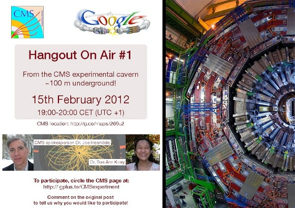 CERN Hangout