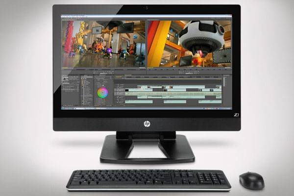 hp4 1329258073 HP Z1 and the new workstation concept of all in one
