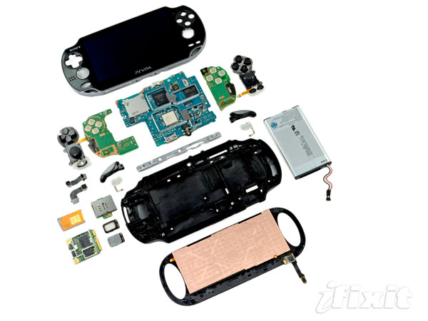 PS Vita torn apart by iFixit, gets its vitals checked