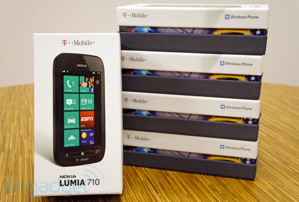 Engadget Giveaway: win one of five Nokia Lumia 710s on T-Mobile, courtesy of Nokia!