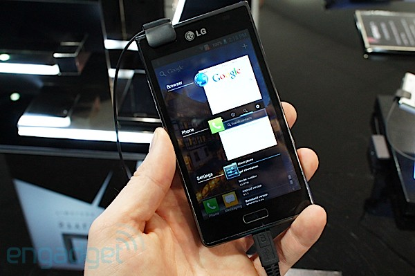 LG Optimus L-style series hands-on