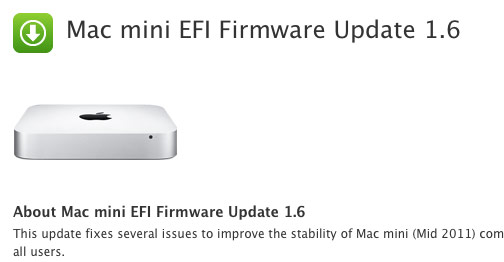Apple releases EFI firmware updates for 2011 Macs, fixes bugs