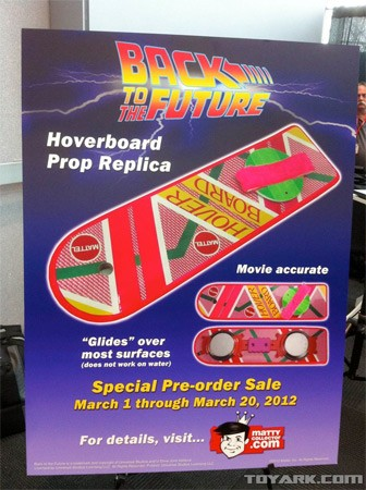 Mattel's hover board replica keeps you firmly planted on terra firma