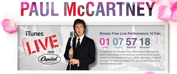 Paul McCartney pulls his music from streaming services, money's all he wants