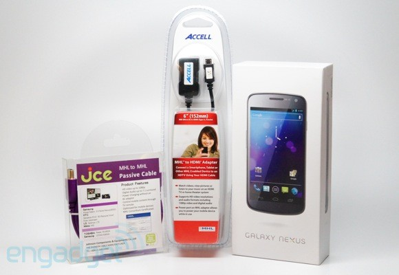 Engadget Giveaway: win a Samsung Galaxy Nexus, courtesy of MHL!