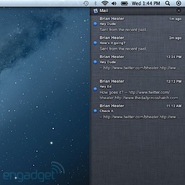 OS X MOUNTAIN LION (10.8) in-depth preview -- Engadget