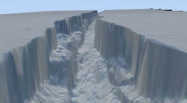 It's a trap! NASA uses The Force in virtual fly-through of ginormous Antarctic crack