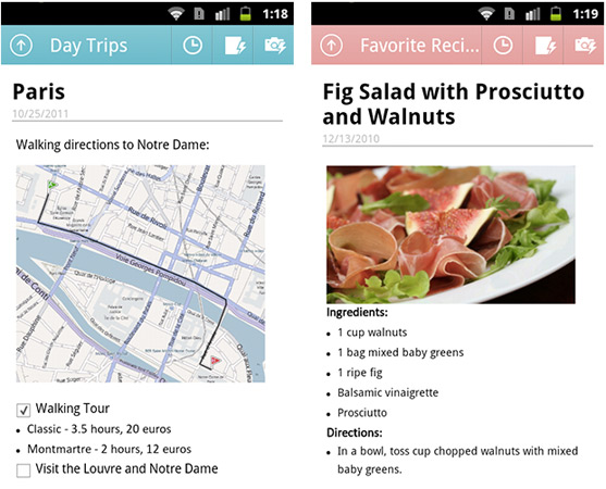 Microsoft's OneNote Mobile takes up roost in the Android Market