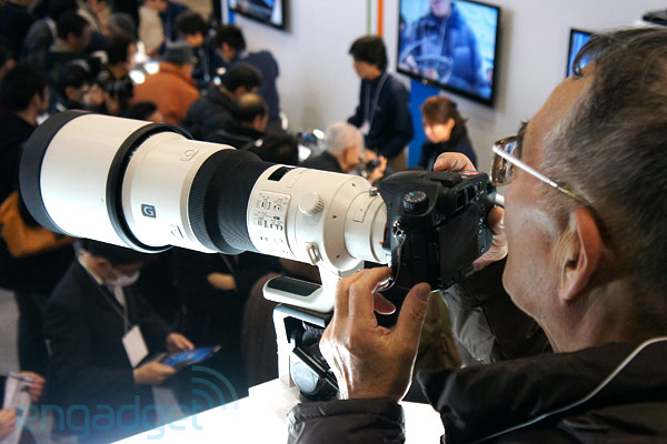 Sony 500mm f/4 G SSM lens reviews and price