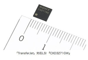 Sony outs 350Mbps TransferJet chip
