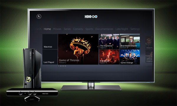 Comcast access to the HBO Go app on Xbox 360 is live