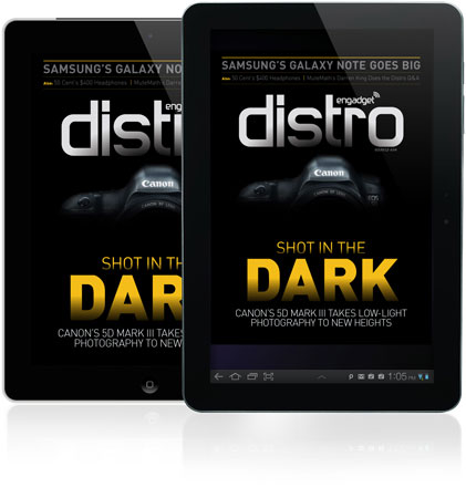 Distro Issue 34 takes a 'Shot in the Dark' with Canon's 5D Mark III