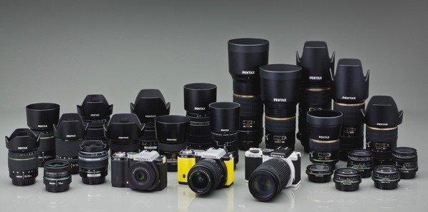 Pentax K-01 and Optio WG-2 cameras now available