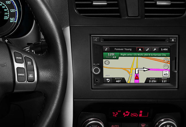 Garmin Partners with Suzuki for Company First In-dash Infotainment System