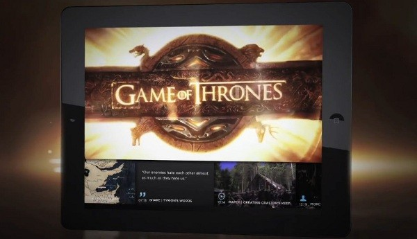 Interactive Game of Thrones content comes to HBO Go iPad app