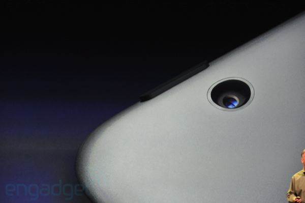 New iPad puts the camera back in focus: 5 MP sensor, AF lens, 1080p video