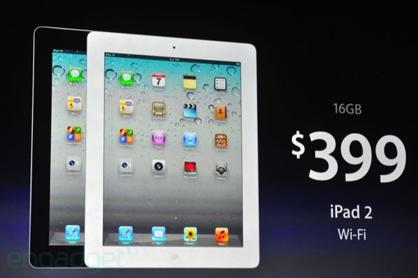 cost of an ipad