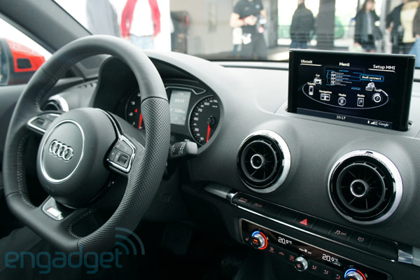 Audi A3 With Mmi Touch Gesture Based Entertainment System