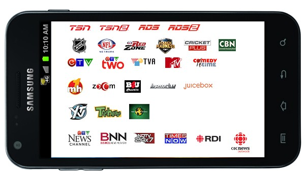 Hands-on Bell Canada Mobile TV service