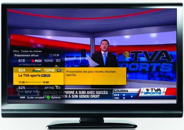 Weve Been Waiting For The Tru2way Based Cable Service Videotron Promised Since End Of 2009 And Now It Has Finally Delivered Illico Digital TV