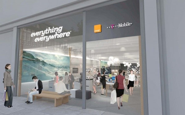 T-Mobile and Orange to rebrand as Everything Everywhere, sell 4G spectrum to rival Three