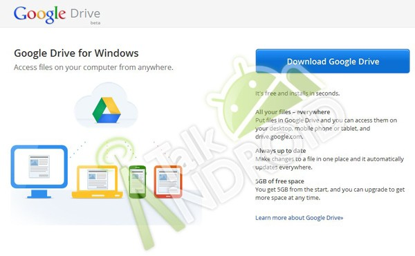 Google Drive leaks suggest 5GB free storage, in-app document editing