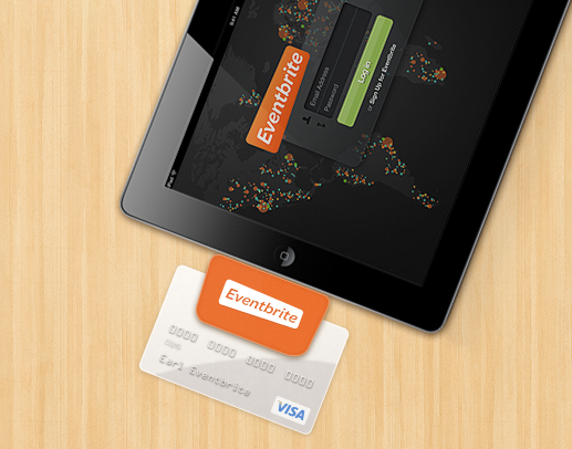 ipad reader Eventbrite unveils At The Door Card reader, turns iPads into ticketing terminals