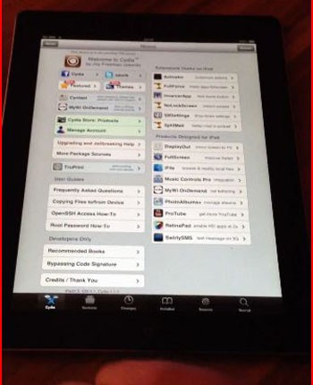 Untethered jailbreak for new iPad shown on YouTube