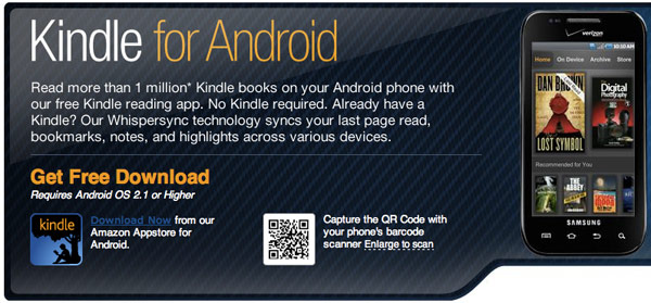 Kindle app for Android updated with Send-To-Kindle functionality, lets you sling documents to green little robots everywhere