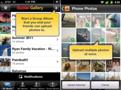kodakgalleryapp Kodak agrees to sell Gallery online photo service to Shutterfly for $24 million