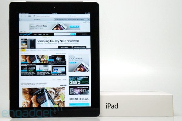 iPad 2012 review