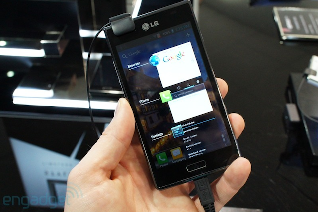 LG Optimus L7 allegedly heading to Rogers
