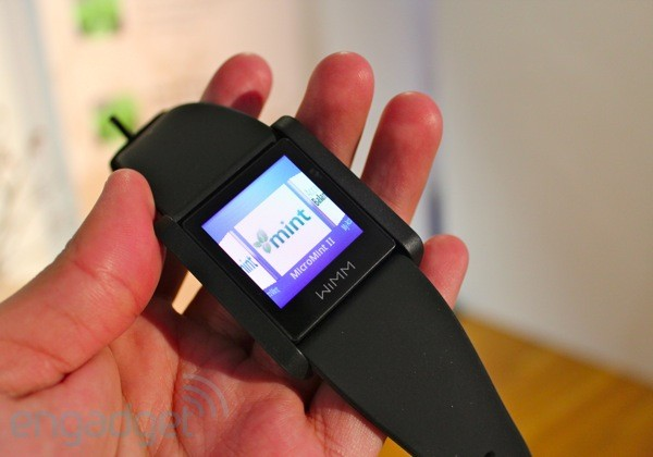 mintlead Intuit shows off MicroMint concept app for the WIMM One smartwatch, we go hands on
