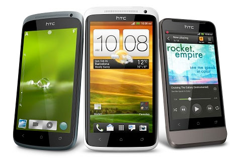 HTC reveals Central Europe release date, pricing for One X, One S and One V