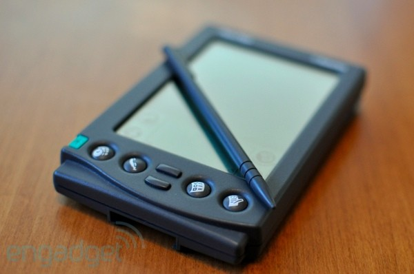 Photo of the original PalmPilot